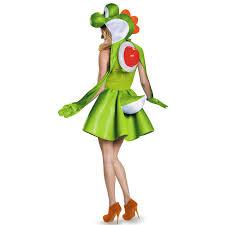 mario brothers halloween costumes buy super mario bros yoshi womens plus size costume