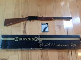 browning bar 22 lr new unfired in box with owners manual