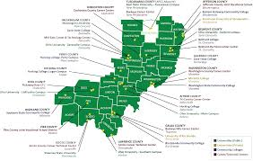 Ohio University Map by Apeg Education