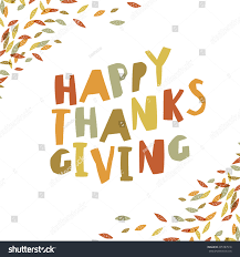 happy thanksgiving card design paper cut stock vector 495787516