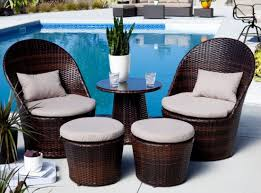 Patio Egg Chair Furniture Small Space Patio Sets Patio Furniture For Small