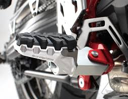 sw motech evo adjustable foot peg kit for select honda nc700s