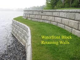 lake sea walls retaining walls waterfront u0026 marine