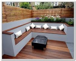 garden storage bench contemporary outdoor benches vancouver within