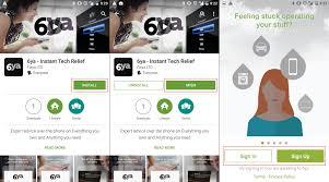 do i use 6ya on my android device u2013 6ya support