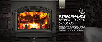 Gas Wood Burning Fireplace Insert by Quadra Fire Fireplaces Stoves And Inserts