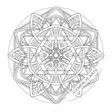 mandala coloring pages advanced level printable 410365