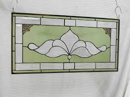 antique stained glass transom window buy a custom traditional vintage look victorian stained glass