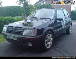 black peugeot for sale black peugeot 205 mi16 rally car rally cars for sale at raced