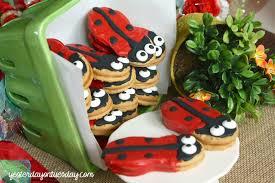 ladybug cookies ladybug cookies yesterday on tuesday