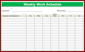 Excel Templates For Scheduling Employees Employee Schedule Template Schedule Template Schedule Employee
