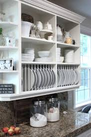 kitchen glass display cabinet shelf on cabinets gallery from