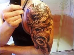 28 dragon tattoos sleeve