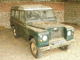1970 land rover barn find 1970 land rover series 2a station wagon 4x4 cars
