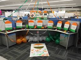 themed office decor independence day themed decor altisource office photo glassdoor