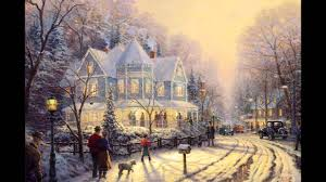 white christmas bing crosby obrazy thomas kinkade ii youtube