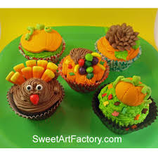 sweet factory thanksgiving cupcakes simple