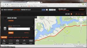 Map My Ride App Harley Ride Planner Tutorial Youtube