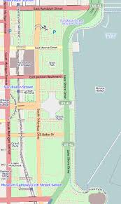 grant park chicago map file grant park chicago map png wikimedia commons