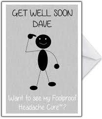 get well soon cards get well soon card i a magic headache cure that card shop