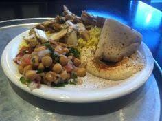 Dawali Mediterranean Kitchen Chicago - chicken shawarma sandwich at dawali mediterranean kitchen