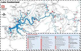 cumberland lake map lake cumberland kentucky maplets