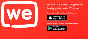we are tv launches first ar game play with television shows