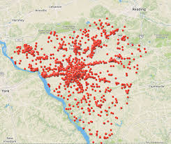 map of lancaster county pa map thousands of overdoses 3 years in lancaster county