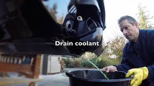 how to do a coolant flush on a sea doo gtr 215 4 tec youtube