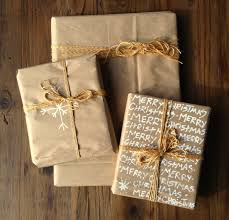 brown wrapping paper make gifts special with diy wrapping paper ideas 9