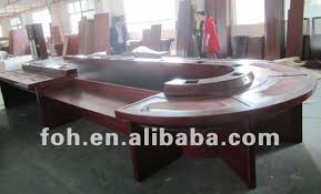 Big Meeting Table High End Wooden Boardroom Table Big Conference Table Fohs C6028