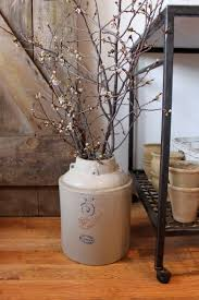 old crock and branches for the home pinterest crock western