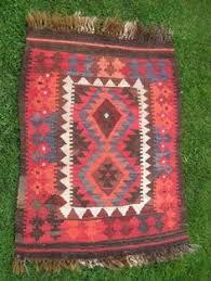 Kilim Bath Mat Anatolian Turkish Antalya Kilim Rug Runner Carpet 104 3