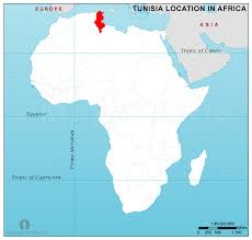 tunisia on africa map tunisia location map in africa tunisia location in africa
