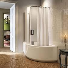 built in bathtub shower combination rectangular acrylic pop