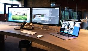 office set ups mac setup the incredible custom office of a landscape architect