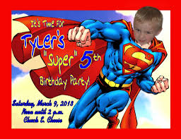 Birthday Invitation Card Maker Birthday Invitation Card Maker Superman Invitation Card Gallery