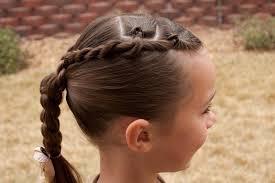 Little Girls Ponytail Hairstyles by Princess Piggies Pull Throughs Corkscrews U0026 Braids