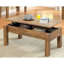 furniture country style solid wood lift top coffee table with