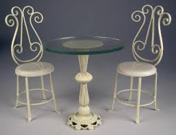 Wrought Iron Bistro Chairs Endearing Wrought Iron Bistro Table And Chairs With Cheap
