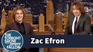 zac efron and jimmy try out zac u0027s crimped eighth grade hairstyle