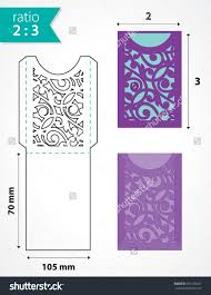 wedding pocket envelopes die cut pocket envelope template with cutout pattern wedding