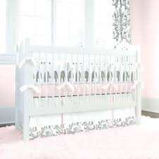 Purple Nursery Decor Baby Crib Bedding Pink And Gold Sets With Bumper Nursery