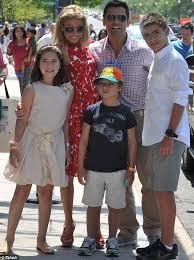 kelly ripa children pictures 2014 how kelly ripa works out up to seven and a half hours a week kelly