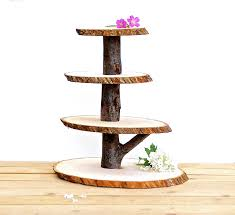 popular items for woodland wedding on etsy wooden cupcake stand