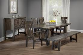 Amish Dining Room Furniture Industrial Turnbuckle Dining Table