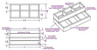 Box Stairs Design Stairs Box Steps Diy Deck Plans