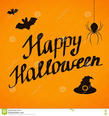 happy halloween lettering banner desig stock vector image 78137750