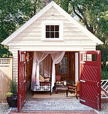 Building Backyard Shed Summer House Garden Sheds U0026 Backyard Retreats The Inspired Room
