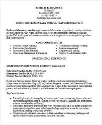Student Teaching Resume Samples 35 Printable Teacher Resume Templates Free U0026 Premium Templates